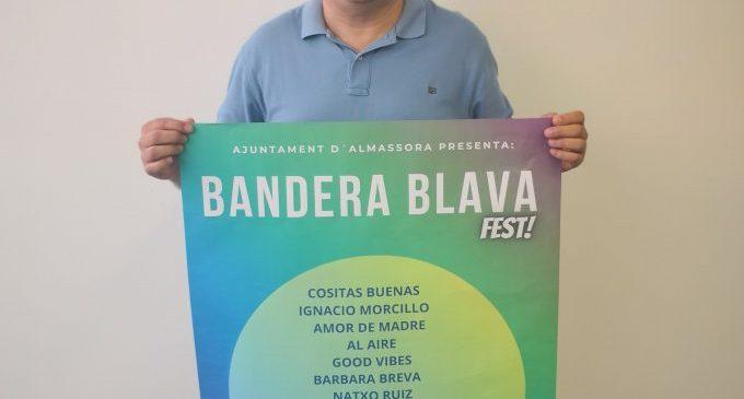 Almassora prepara el Bandera Blava Fest a la platja de Benafelí