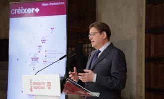 La Generalitat ampliará el Hospital Comarcal de Vinaròs, construirá el segundo Centro de Salud y un helipuerto a través del Pla Créixer+