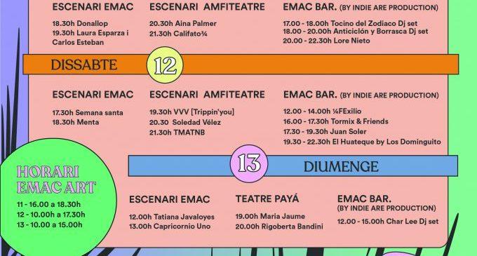La programació més avantguardista i coral amb Soledad Vélez, Maria Jaume, Rigoberta Bandini i la volta de Califat ¾ en la sisena edició de l'emac