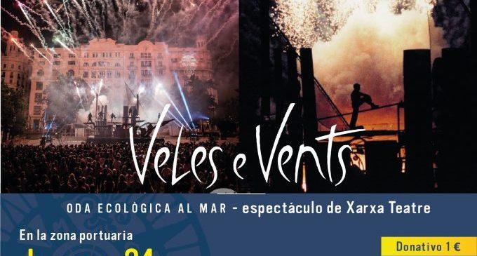 Peñíscola dará la bienvenida al verano con el espectáculo 'Veles e Vents' de Xarxa Teatre