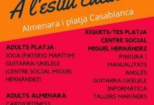 """""""A l'estiu cultura"""", el programa de cursos i tallers d'Almenara per al mes de juliol"""