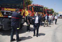 El Consorci de Bombers de la Diputació activa un dispositiu contra incendis de 750 efectius, 200 vehicles i 5 mitjans aeris