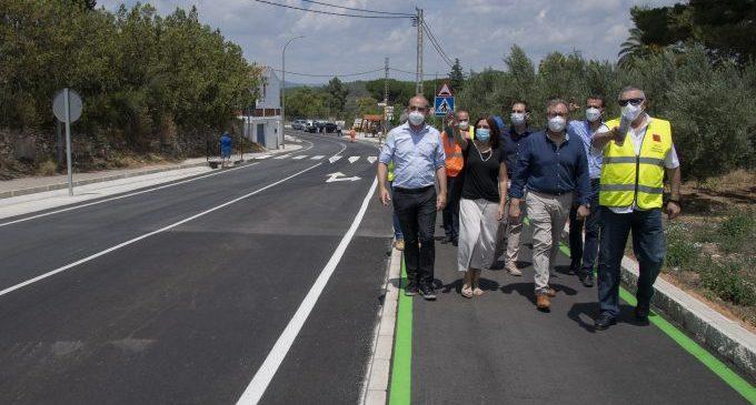 La Diputació de Castelló projecta per a finals d'estiu la millora de la carretera de Miravet entre Cabanes i Oropesa