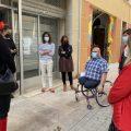 Puerta reivindica el paper de les associacions en la inclusió social de col·lectius amb discapacitat en la seua visita a Cecemfe Maestrat