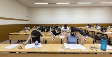 Estas son las notas de la PAU 2021 en Castellón