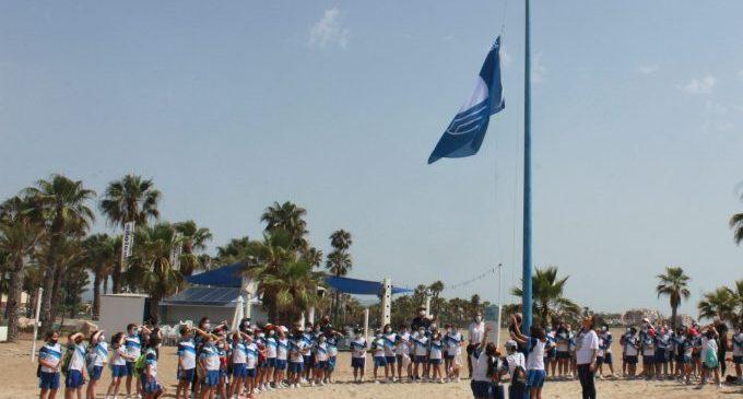 Les banderes Blaves i les d'EcoPlayas ja flamegen a les platges de Borriana