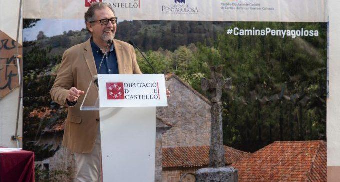 """Martí: """"Es una gran noticia firmar el convenio para la recuperación de Sant Joan de Penyagolosa"""""""