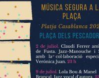 """Almenara prepara activitats musicals amb la programació de """"Música segura a la plaça"""" i """"L'estiuet 2021"""""""