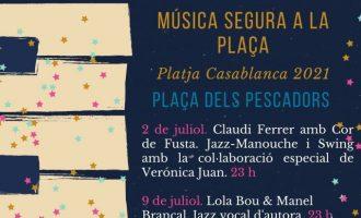 """Almenara prepara actividades musicales con la programación de """"Música segura en la plaça"""" y """"L'estiuet 2021"""""""