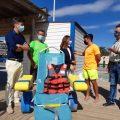 Las playas de Benicarló ya están al 100% para acoger este verano 2021