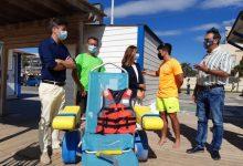 Les platges de Benicarló ja estan al 100% per a acollir l'estiu 2021