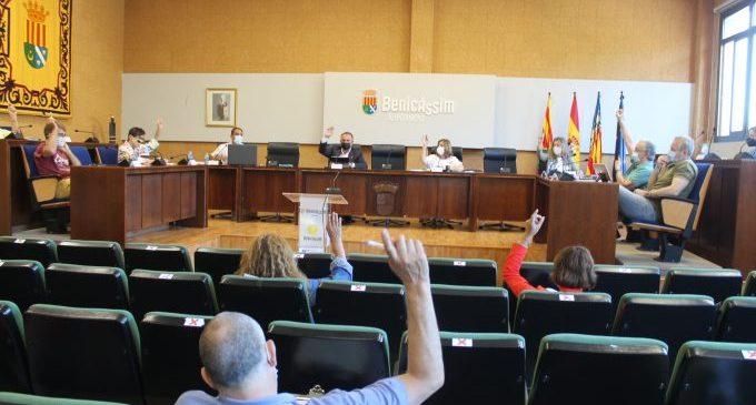 Benicàssim suspendrà el pagament de la taxa de terrasses a hostaleria i comerç durant el 2022