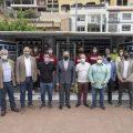 José Martí i Ignasi Garcia visiten el primer ecoparc mòbil del consorci C2 de residus pel Dia del Medi Ambient