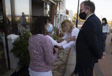 Martí visita Torre la Sal per a mostrar el suport de la Diputació a les reivindicacions de Cabanes