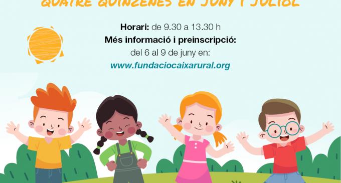 Vila-real contará este verano con XiCaEstiu, un programa de ocio para niños y niñas con diversidad funcional