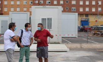 El CEIP Herrero de Castelló es traslladarà a les instal·lacions provisionals la pròxima setmana