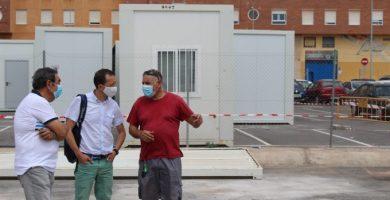 El CEIP Herrero de Castelló se trasladará a las instalaciones provisionales la próxima semana