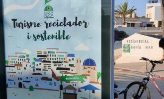 Vinaròs se une a la lucha contra el cambio climático y competirá este verano para conseguir la Bandera Verde de Ecovidrio
