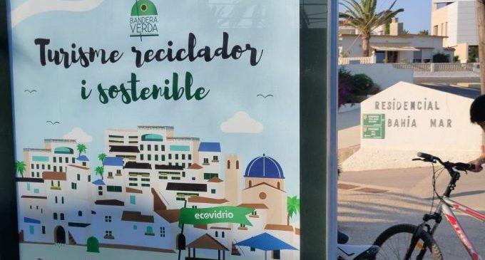 Vinaròs s'uneix a la lluita contra el canvi climàtic i competirà aquest estiu per a aconseguir la Bandera Verda d'Ecovidrio