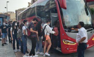 Onda renueva el servicio de bus gratuito para 250 estudiantes para el curso 2021/2022
