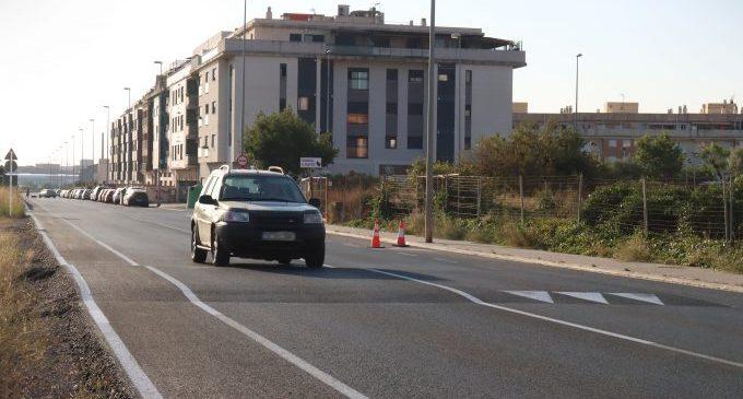 Onda culmina l'asfaltatge de l'avinguda Constitució per a millorar la seguretat d'aquesta via principal