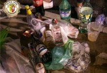 La Policia de Vinaròs tramita nou denuncies aquest dissabte per botellons
