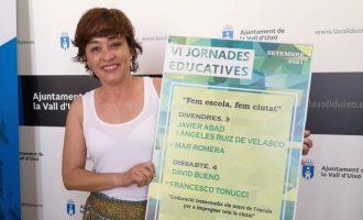 """""""Fem escola, fem ciutat"""", las VI jornadas educativas de la Vall d'Uixó que se celebrarán en septiembre"""