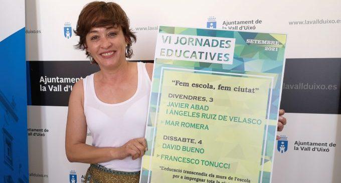 """""""Fem escola, fem ciutat"""", les VI jornades educatives de la Vall d'Uixó que se celebraran al setembre"""