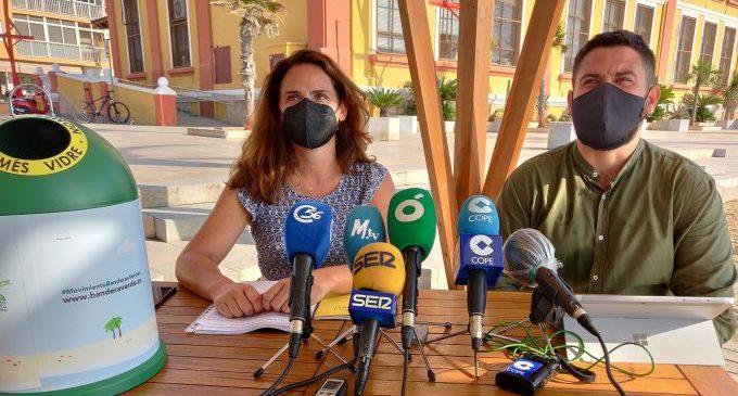 Vinaròs tracta d'aconseguir aquest estiu la Bandera Verda d'Ecovidrio