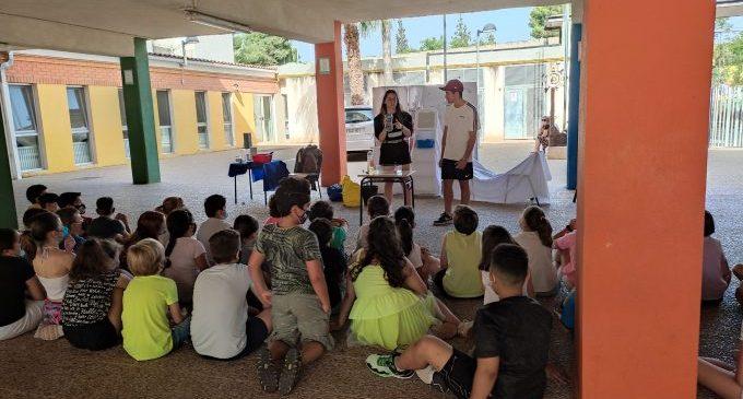Más de 3.000 alumnos aprenden sobre hábitos saludables, la huerta y el entorno natural en la campaña Eduquem en Verd
