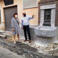 L'Ajuntament de la Vall d'Uixó finalitza la restauració de la font de Béssols al carrer Diputació