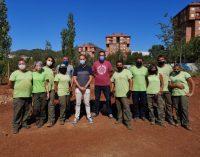 La Vall d'Uixó escomet una nova fase del projecte de creació d'un bosc de ribera en la Moleta