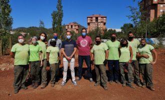 La Vall d'Uixó acomete una nueva fase del proyecto de creación de un bosque de ribera en la Moleta