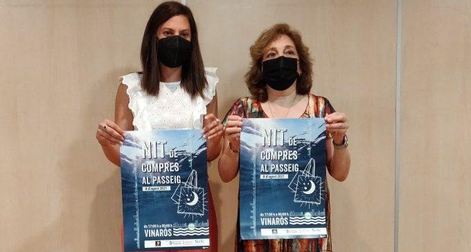 'Nit de compres al passeig', una iniciativa de Vinaròs que trau el comerç al carrer