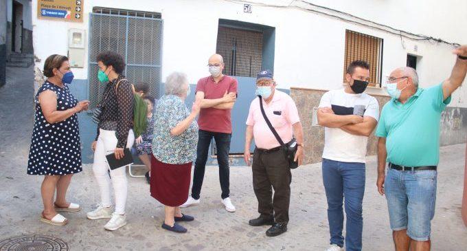 Onda es compromet a rehabilitar el portal de Sant Pere