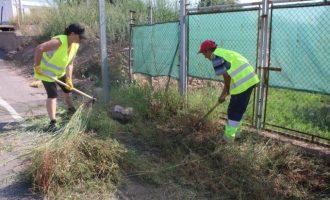 Onda refuerza las brigadas para la limpieza de caminos rurales con 28 nuevos operarios