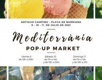 Vuelve el 'Mediterrània Pop-Up Market' como gran escaparate de verano del comercio local de Borriana