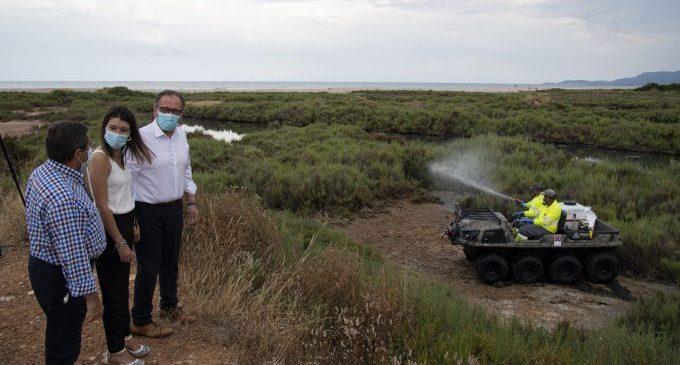La Diputació aconsella evitar aglomeracions d'aigua per a prevenir la proliferació de mosquits