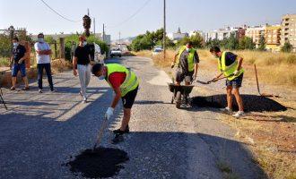 La Vall d'Uixò contrata a 140 personas para adecuar sus caminos rurales