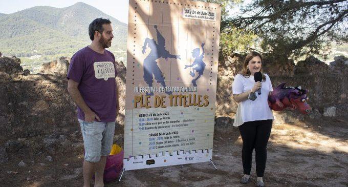 El festival de teatre 'Ple de Titelles' arriba a Onda per a apostar pel turisme familiar