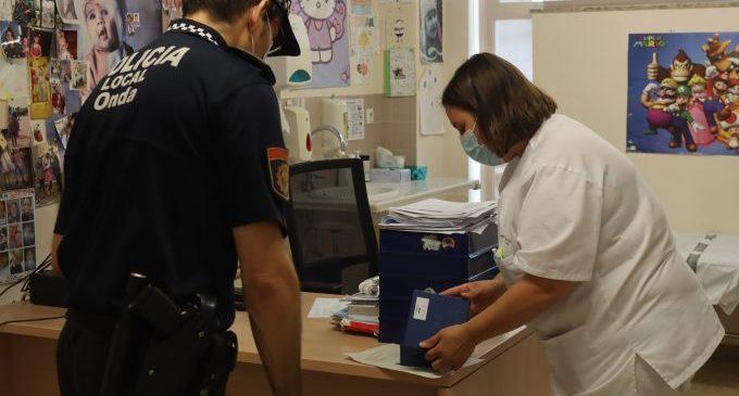 La Policia Local d'Onda es fa càrrec de la logística i distribució de les vacunes contra la Covid-19