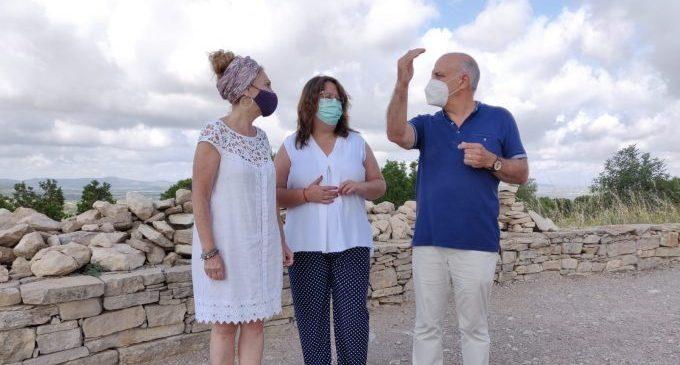 La Diputació de Castelló posa en valor com a recurs turístic el jaciment del Puig de la Misericòrdia de Vinaròs