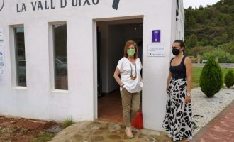 La Vall d'Uixò instal·la un Punt Violeta en la Tourist Info per a atendre i ajudar a les víctimes d'agressions sexistes