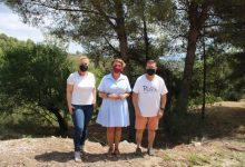 Les brigades forestals de la Diputació treballen en la neteja del paratge de Sant Vicent de l'Alcora