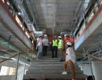 El director general d'Infraestructures Educatives visita les obres del col·legi Jaume I i l'IES José Vilaplana de Vinaròs