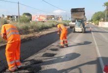 Benicàssim inicia l'asfaltat del nou itinerari per als vianants del Camí Serradal