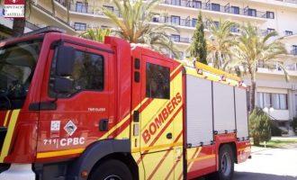 Ferit un treballador d'un hotel a Benicàssim després de patir un accident laboral