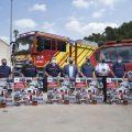 """La Diputació homenatja el """"treball excepcional"""" dels bombers voluntaris de la província per preservar l'entorn natural de Castelló"""