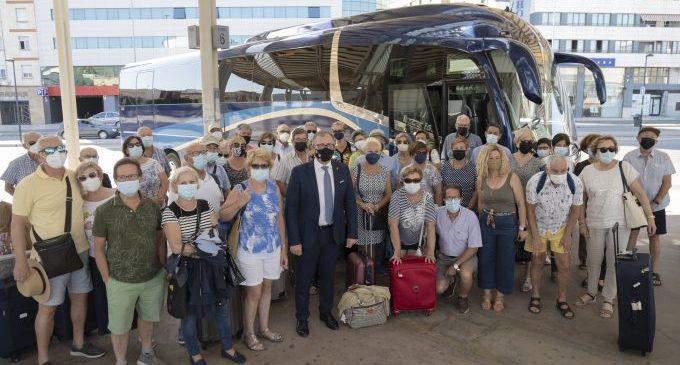 'Castellón Senior' retoma sin incidencias los viajes durante el mes de junio y la primera quincena de julio