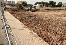 La constructora inicia l'excavació dels fonaments del col·legi Santa Quitèria d'Almassora